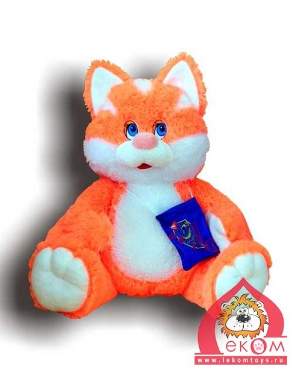 кот рыболов мягкая игрушка