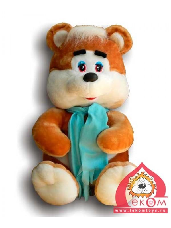 Медведь в шарфике